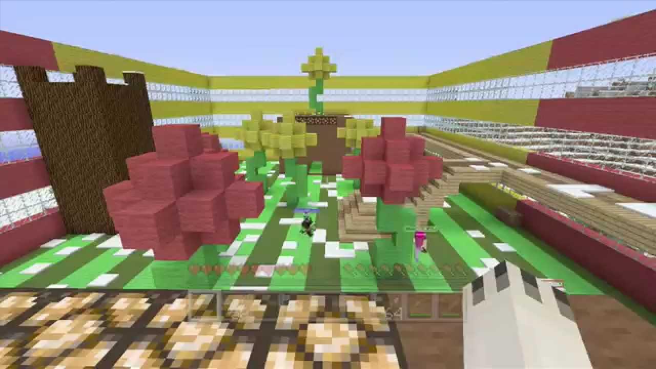 Minecraft Xbox - Stampy's Flower Power Minigame - YouTube