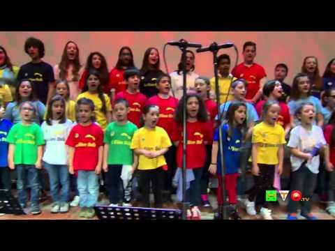 La ChiaraStella 2016 - Backstage - Coro dei Bambini dell'I.C.