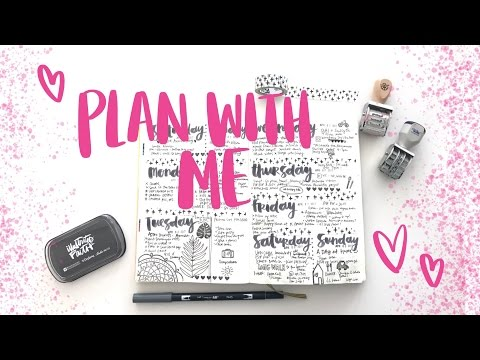 Plan With Me April | Bullet Journal