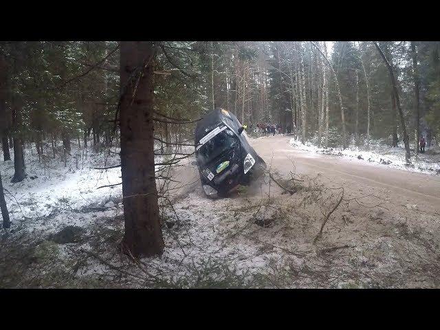 Rally Alūksne 2018 I Crash, Mistakes & Close calls