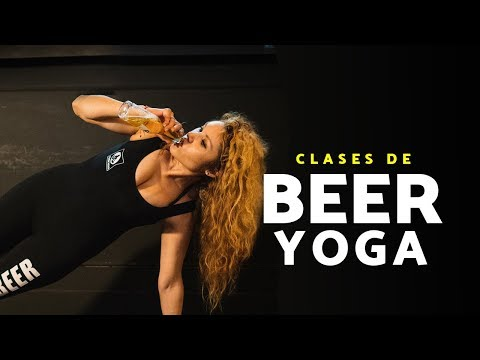 Beer Yoga Mexico Clases De Yoga Con Cerveza The Beer Box Polanco Youtube