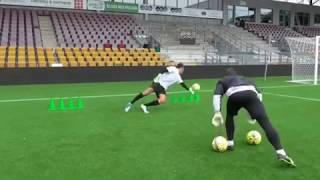Andreas Fischer Goalkeeper Training 2019