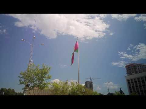 Флаг Краснодара на театральной