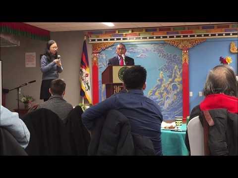 陈破空:达赖喇嘛驻北美代表致词:西藏、新疆、香港和内地中国人民都渴望自由。年轻人在觉醒