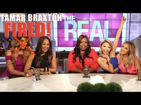 TAMAR BRAXTON FIRED FROM THE REAL DAYTIME | I WAS THERE AT THE REAL!!
