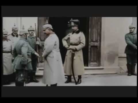 Kaiser Wilhelm II. bei Verdun - 1916