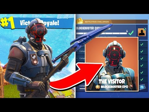 Fortnite BLOCKBUSTER SKIN Gameplay! |