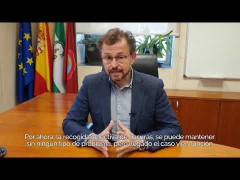 Córdoba comenzará mañana la desinfección de las calles de la ciudad