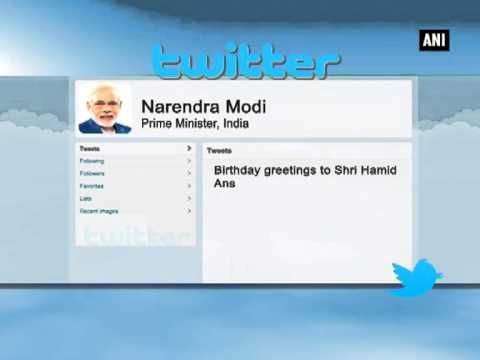 PM Modi extends birthday wishes to Vice-President Ansari
