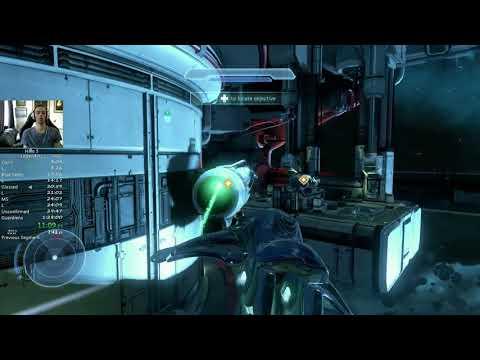 Halo 5 Legendary Full Game 1hr23m27s (1hr27m41s RTA)