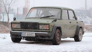 Jedyna taka Łada przystosowana do driftu i silnikiem V8!  #Legendy_PRL