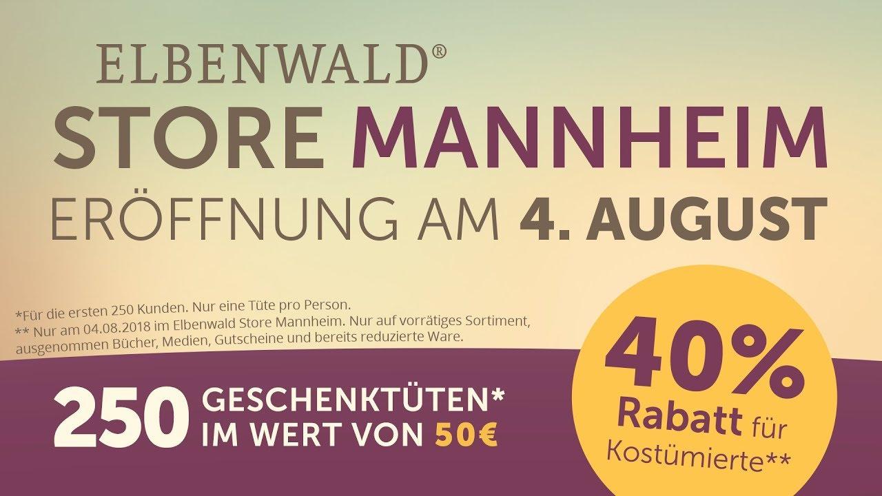 Ankündigung zur Eröffnung in Mannheim! - YouTube