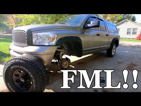 NEW WHEELS Are Here But I'm FU*KED - Project Asian Redneck Ram #5