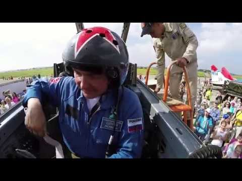 """видео: Пилотажная группа """"Стрижи"""" (МИГ-29)"""