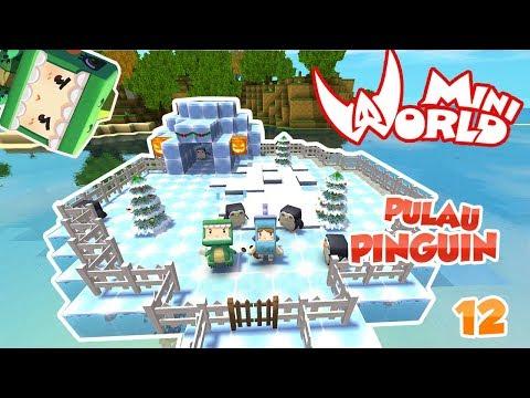2 KOCAK BIKIN PULAU PINGUIN !! - MINI WORLD BLOCK ART #12