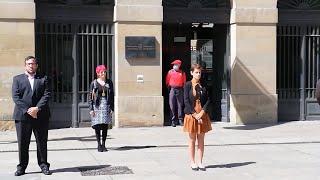 El Gobierno de Navarra homenajea a los fallecidos en la pandemia de Covid-19