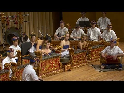 Pollock In Pelog new composition for Balinese Gamelan