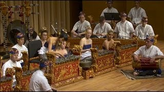 """Pollock In Pelog"" new composition for Balinese Gamelan"