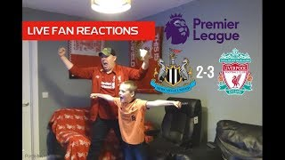 Newcastle 2-3 Liverpool Saturday May 4th 2019, LIVE Fan Reactions