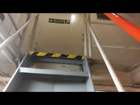 Engine room General cargo vessel