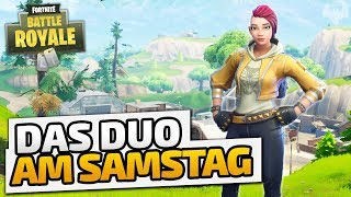 Das Duo am Samstag! - ♠ Fortnite Battle Royale ♠ - Deutsch German - Dhalucard