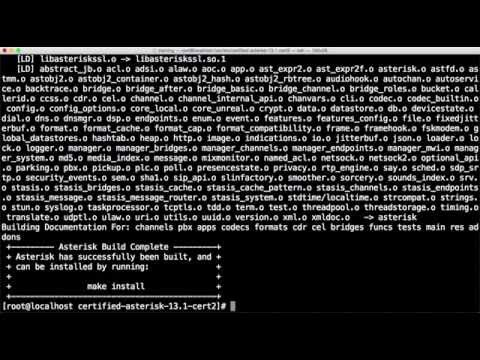 How to Install and Compile Asterisk 13 on CentOS 7