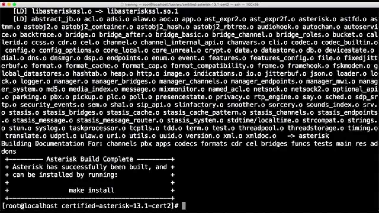 Asterisk 16 Pjsip