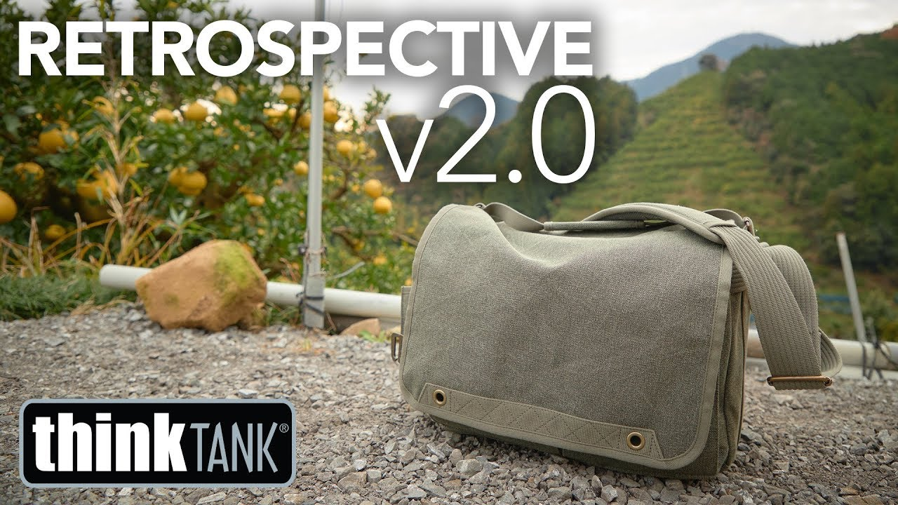 The All Around Best Camera Bag? ThinkTank Retrospective V2.0 Review -  YouTube