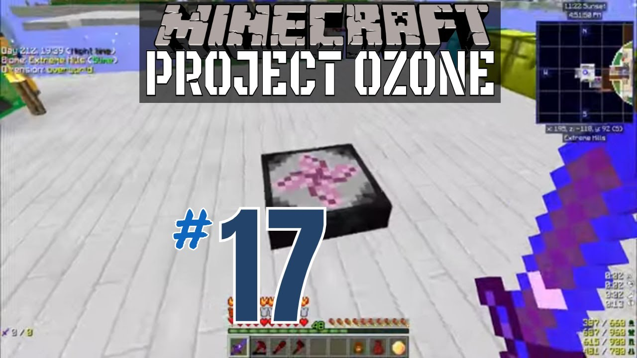 Transmutation Table Done! || Project Ozone 3 (Modded Minecraft) || #17
