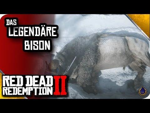 RED DEAD REDEMPTION 2 🐎 Das legendäre weiße Bison thumbnail