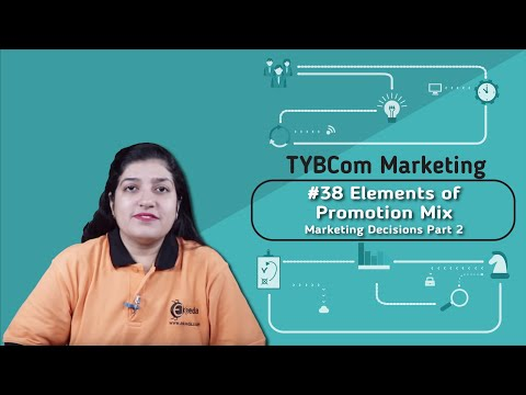 Elements Of Promotion Mix - Marketing Decisions Part 2 - TYBCOM Marketing