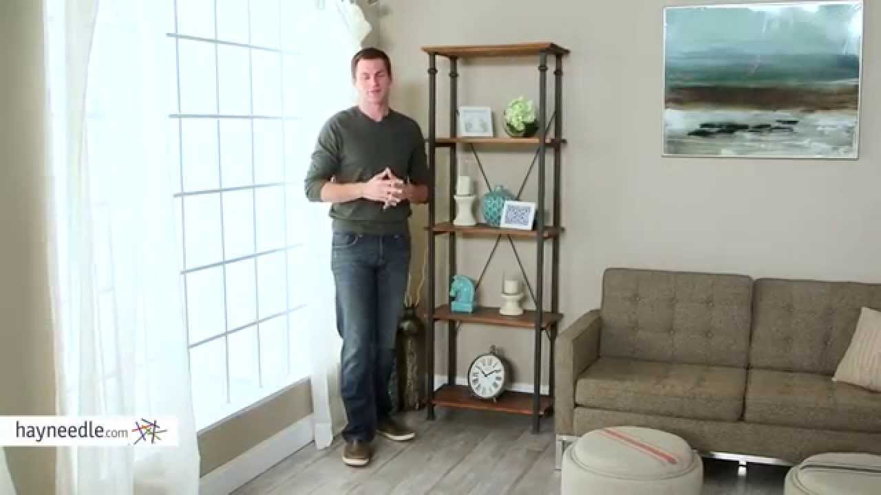 Homelegance Factory Bookcase Product Review Video