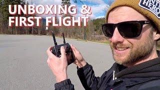 DJI Mavic Pro Unboxing & First Flight