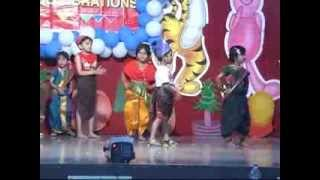 """Galyan Sakli Sonyachi"" marathi song performance on Annual Day 2012"