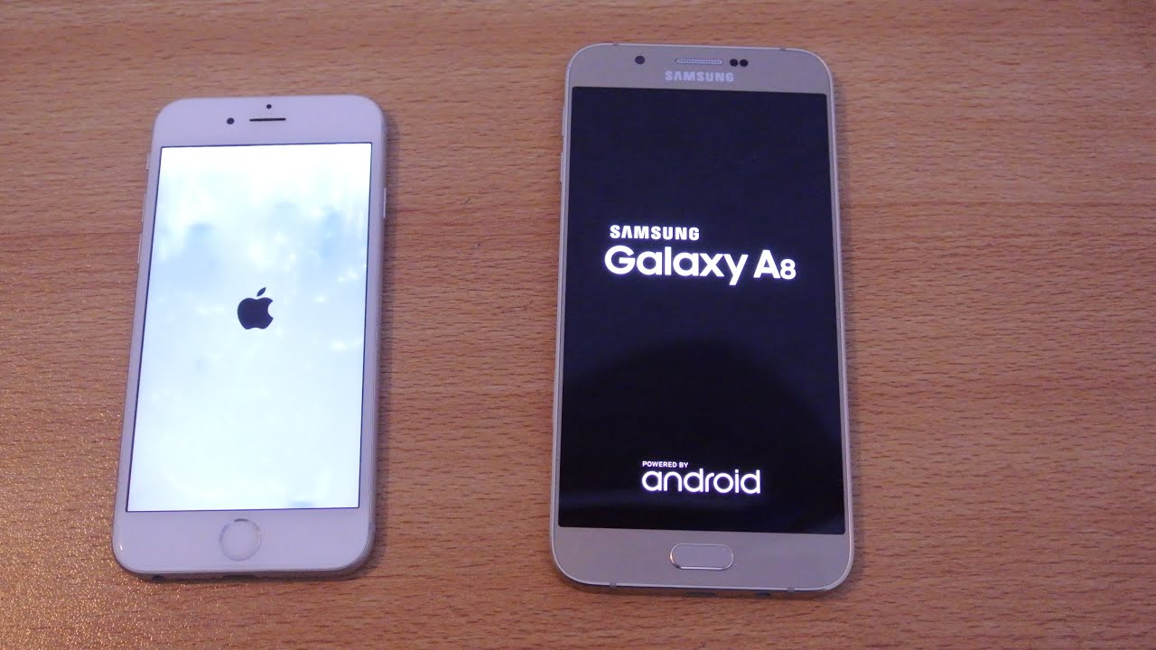 samsung a8 2019 vs iphone 7