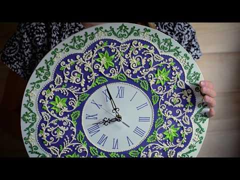 Часы на стену оригинальные своими руками