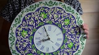 мастеркласс  как сделать настенные часы  Wall Clock MasterClass