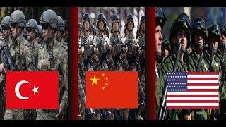 Dünyanın En Çok Askerine Sahip Olan 10 Ülke