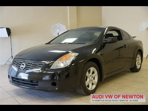 2008 Nissan Altima 2 5 S Coupe Youtube