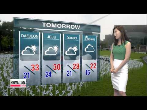 Hot and sunny Liberation day, pop-up showers on Sunday   내일도 폭염 기승...자외선 지수 ′높음′