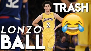 😂😂LONZO BALL TRASH COMPILATION!!! (MISSED SHOTS)😂😂