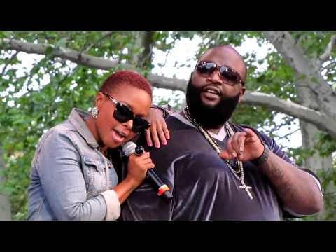 Chrisette Michele & Rick Ross, Aston Martin Music, Central Park Summerstage, NYC 8-21-10