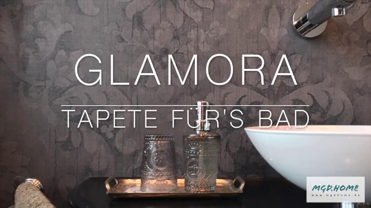 mgdHome • GLAMORA | Tapete für\'s Bad