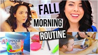 My Fall Morning Routine! 2015