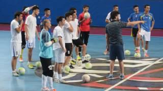 Футзал. Тренировка национальной сборной Узбекистана (29.06.2016)