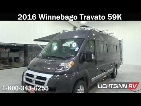 Lichtsinn.com - New 2016 Winnebago Travato 59K Motor Home Cl