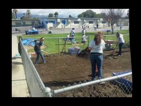 Kingsley Elementary School Makeover April 14, 2012