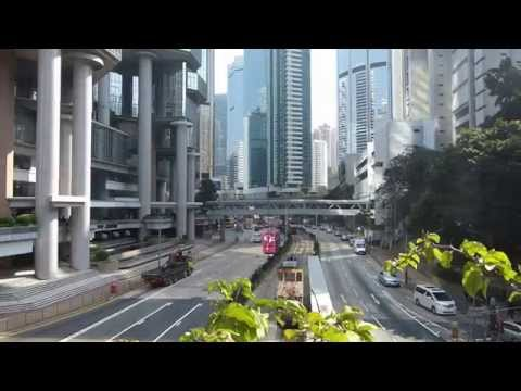 Hong Kong 2014 (part 2). Ocean Park, Victoria Peak, Peak Tram