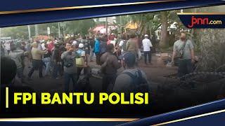 FPI Bantu Polisi Tenangkan Massa di Demo 1320 - JPNN.com