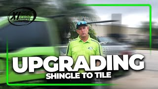 Upgrading a Shingle to Tile Roof with Phillip Smock | XLR8 Roofing